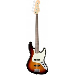 FENDER AMERICAN PRO JAZZ BASS FRETLESS RW BAJO ELECTRICO 3 COLOR SUNBURST