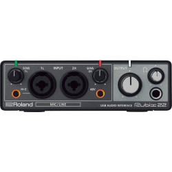 ROLAND RUBIX 22 INTERFACE DE AUDIO. NOVEDAD