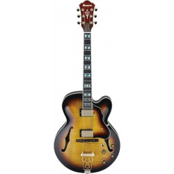 IBANEZ AF155 AYS ARTSTAR GUITARRA ELECTRICA HOLLOW BODY ANTIQUE YELLOW SUNBURST. NOVEDAD