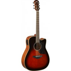 YAMAHA A1M II TBS GUITARRA ELECTROACUSTICA DREADNOUGHT TOBACCO BROWN SUNBURST. NOVEDAD
