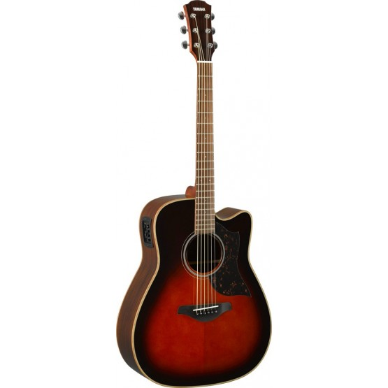 YAMAHA A1R II TBS GUITARRA ELECTROACUSTICA DREADNOUGHT TOBACCO BROWN SUNBURST. NOVEDAD