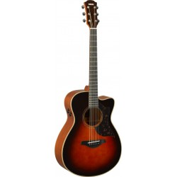 YAMAHA AC3M ARE TBS GUITARRA ELECTROACUSTICA CONCIERTO TOBACCO BROWN SUNBURST. NOVEDAD