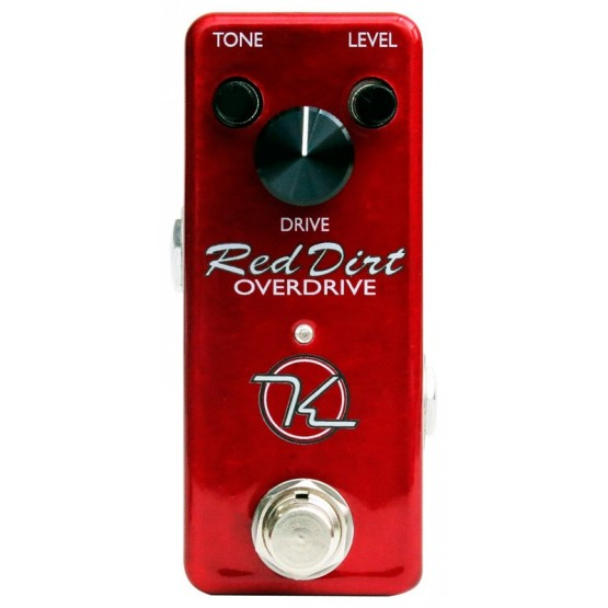 KEELEY RED DIRT MINI PEDAL OVERDRIVE