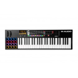 M AUDIO CODE49 BLACK TECLADO CONTROLADOR USB MIDI NEGRO