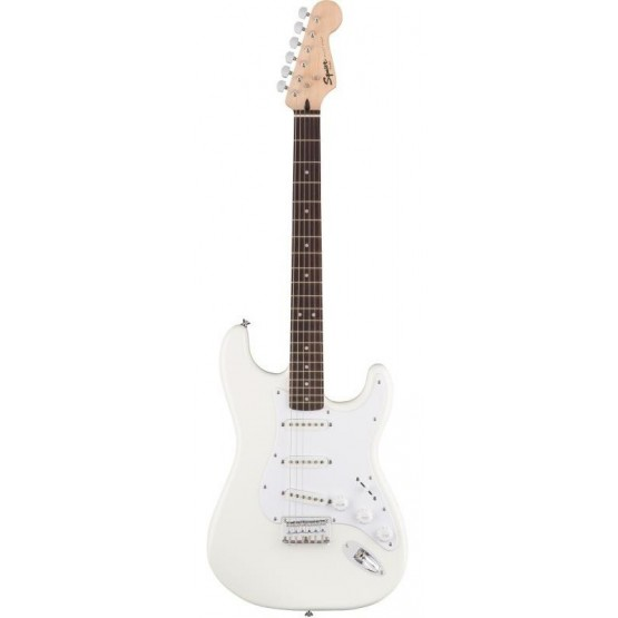 SQUIER BULLET STRATOCASTER SSS HARD TAIL RW GUITARRA ELECTRICA ARCTIC WHITE. OUTLET