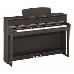 YAMAHA CLP675 DW PIANO DIGITAL CLAVINOVA DARK WALNUT