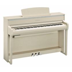 YAMAHA CLP675 WA PIANO DIGITAL CLAVINOVA BLANCO CENIZA