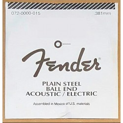FENDER 014 CUERDA PLANA GUITARRA ELECTRICA. OUTLET