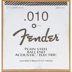 FENDER 010 PLAIN CUERDA PLANA GUITARRA ELECTRICA. OUTLET