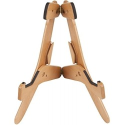 FENDER 0991805021 JACKKNIFE SOPORTE DE GUITARRA DE MADERA NATURAL. OUTLET