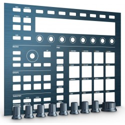 NATIVE INSTRUMENTS MASCHINE MK2 CUSTOM KIT STEEL BLUE. OUTLET