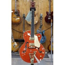 GRETSCH G6120-1959 LTV CHET ATKINS HOLLOW BODY GUITARRA ELECTRICA VINTAGE ORANGE LACQUER. DEMO