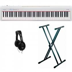 ROLAND -PACK- FP30WH PIANO DIGITAL + SOPORTE TIJERA Y AURICULARES