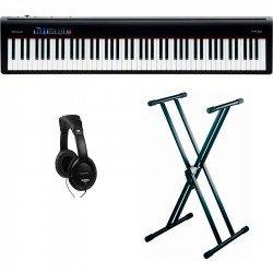 ROLAND -PACK- FP30BK PIANO DIGITAL + SOPORTE TIJERA Y AURICULARES