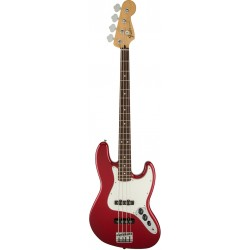 FENDER STANDARD JAZZ BASS PF BAJO ELECTRICO CANDY APPLE RED