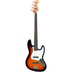 FENDER STANDARD JAZZ BASS FRETLESS PF BAJO ELECTRICO BROWN SUNBURST