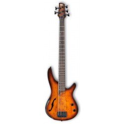 IBANEZ SRH505 DEB WORKSHOP BAJO ELECTRICO 5 CUERDAS DRAGON EYE BURST. NOVEDAD