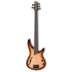 IBANEZ SRH505F NNF WORKSHOP BAJO ELECTRICO 5 CUERDAS FRETLESS NATURAL BROWNED. NOVEDAD