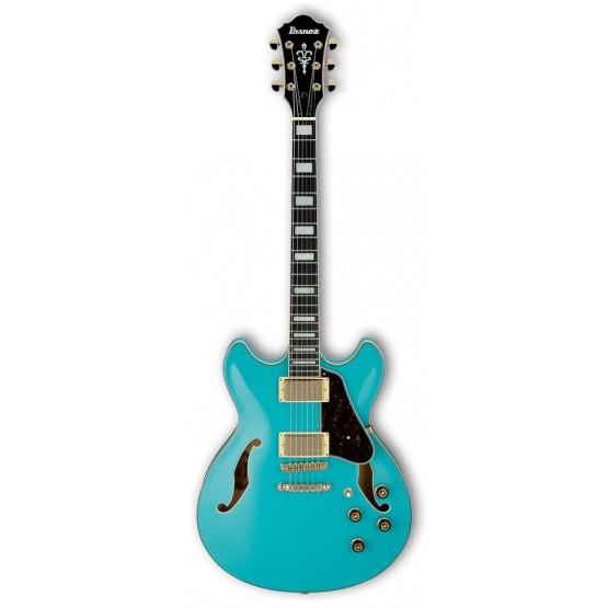 IBANEZ AS73G MTB GUITARRA ELECTRICA HOLLOW BODY MINT BLUE. NOVEDAD