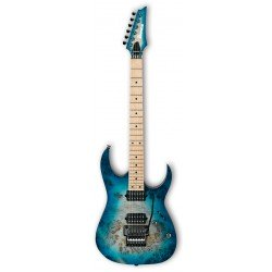 IBANEZ RG652MPB GFB PRESTIGE GUITARRA ELECTRICA GHOST FLEET BLUE BURST. NOVEDAD