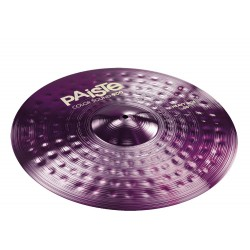 PAISTE 900 COLOR SOUND PURPLE HEAVY RIDE 22 PLATO BATERIA