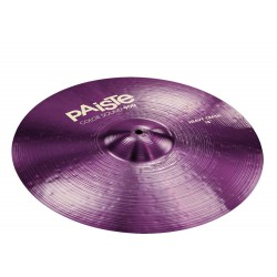 PAISTE 900 COLOR SOUND PURPLE HEAVY CRASH 19 PLATO BATERIA