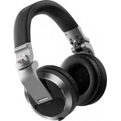 PIONEER HDJ-X7S AURICULARES CERRADOS DJ PLATEADOS. NOVEDAD