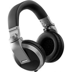 PIONEER HDJ-X5S AURICULARES CERRADOS DJ PLATEADOS. NOVEDAD