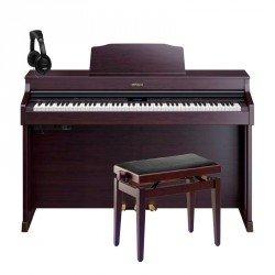 ROLAND -PACK- HP603A CR PIANO DIGITAL 88 TECLAS CONTRAPESADAS + BANQUETA Y AURICULARES