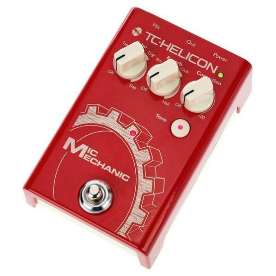 TC HELICON VOICETONE MIC MECHANIC 2 EFECTOS PARA VOZ