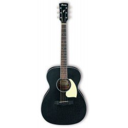 IBANEZ PC14 WK GUITARRA ACUSTICA GRAND CONCERT WEATHERED BLACK. NOVEDAD