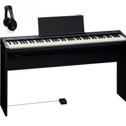 ROLAND -PACK- FP30BK PIANO DIGITAL + SOPORTE Y AURICULARES