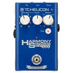 TC HELICON HARMONY SINGER PEDAL PARA VOZ. DEMO