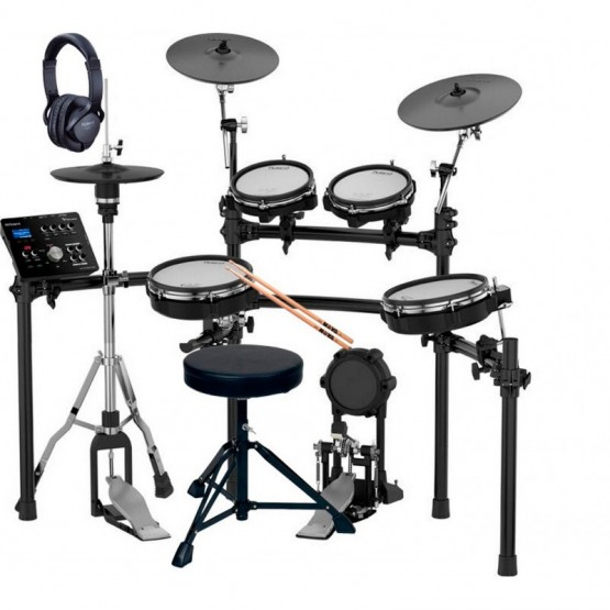 ROLAND -PACK- TD25KV BATERIA ELECTRONICA + PEDAL BOMBO+ PEDAL HIHAT+ ASIENTO+ AURICULARES Y BAQUETAS