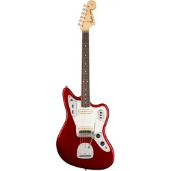 FENDER AMERICAN ORIGINAL 60S JAGUAR RW GUITARRA ELECTRICA CANDY APPLE RED. NOVEDAD