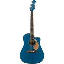 FENDER REDONDO PLAYER GUITARRA ELECTROACUSTICA BELMONT BLUE. NOVEDAD