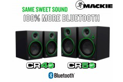 Novedad: Monitores de estudio Mackie CR Bluetooth