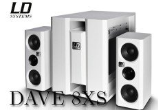 LD SYSTEMS DAVE8 XS WH