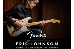 NUEVAS GUITARRAS FENDER ERIC JOHNSON THINLINE STRATOCASTER