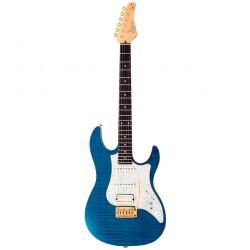 FUJIGEN EOS-FM-R-EB ODISSEY GUITARRA ELECTRICA EMERALD BLUE