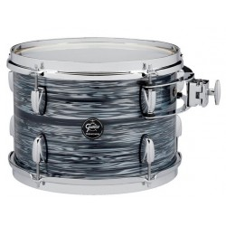 GRETSCH DRUM TOM TOM NEW RENOWN MAPLE TOM 12X8 SILVER OYSTER PEARL