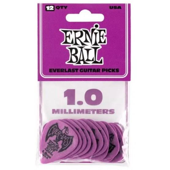 ERNIE BALL EB9193 EVERLAST BOLSA DE 12 PUAS 1 MM PURPURA
