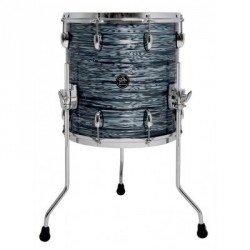 GRETSCH DRUM FLOOR TOM NEW RENOWN MAPLE FLOOR TOM 16X16 SILVER OYSTER PEARL