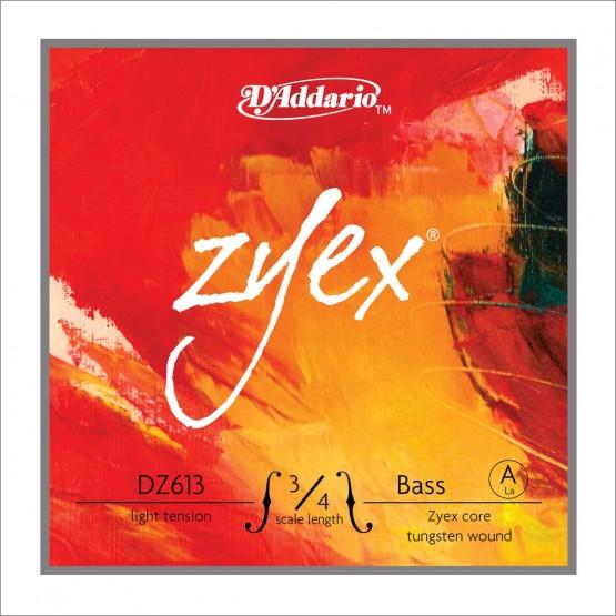 D'ADDARIO DZ613L A CUERDA CONTRABAJO ZYEX 3/4