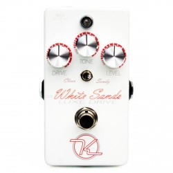 KEELEY WHITE SAND LUXE DRIVE PEDAL OVERDRIVE