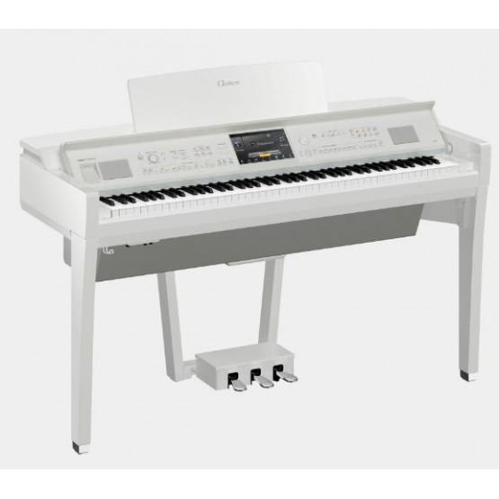 YAMAHA CVP809 PWH PIANO DIGITAL CLAVINOVA BLANCO PULIDO. NOVEDAD