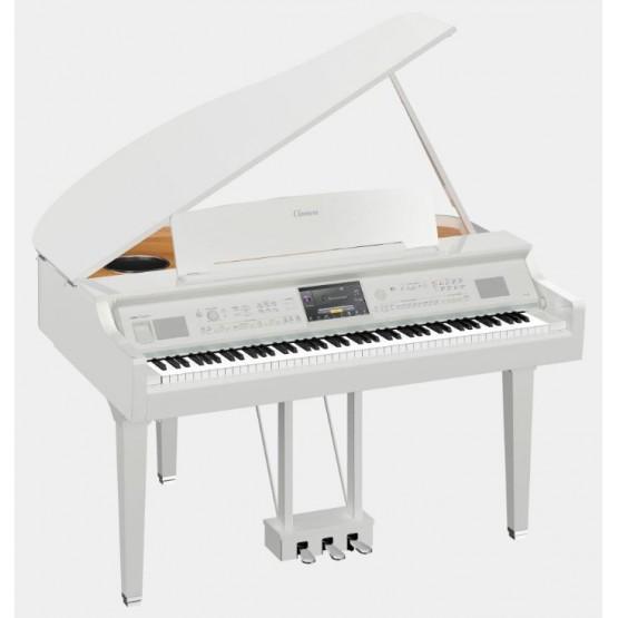 YAMAHA CVP809 GP PWH PIANO DIGITAL CLAVINOVA BLANCO PULIDO. NOVEDAD