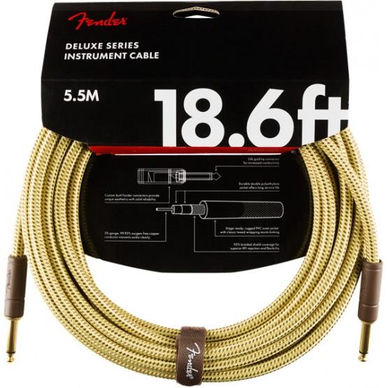 FENDER 0990820081 DELUXE CABLE INSTRUMENTO 5.5 METROS TWEED