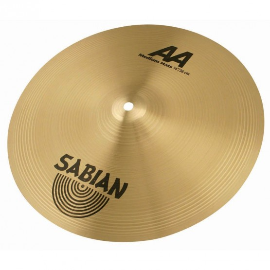 SABIAN AA 21402B MEDIUM HI HATS 14 PLATOS BATERIA
