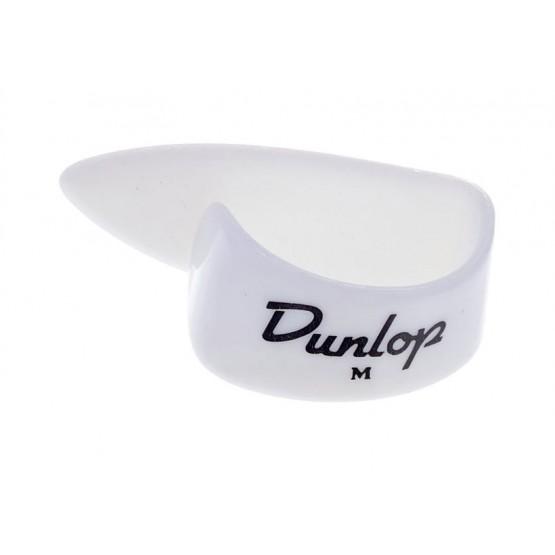 DUNLOP 9002 PUA PULGAR PLASTICO MEDIUM COLOR BLANCO. UNIDAD